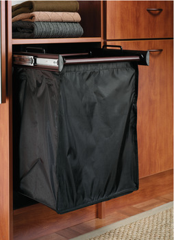 Pull-Out Hamper, with Removable Bags, TAG Synergy Collection