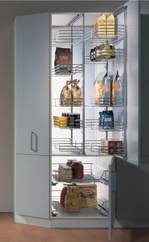 Pull-Out Pantry Frame, 88 lbs. Weight Capacity