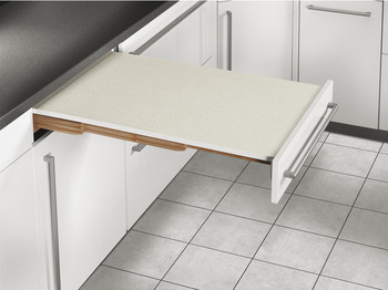 Pull-Out Table System, For Kitchen Cabinets, 100 kg - in the ...