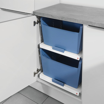Pull-Out with Basket, Hailo Laundry Area