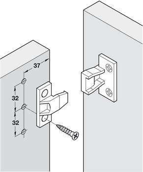 Push-In Fitting, AS Frame Component