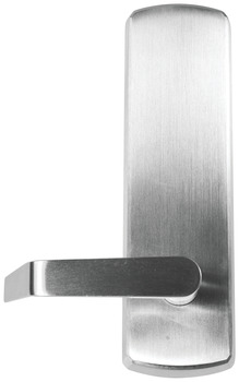 Radius Top Escutcheon, Blank Escutcheon Lever