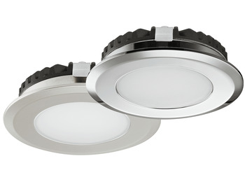 Recess Mounted Puck Light, Loox LED 2039, 12 V