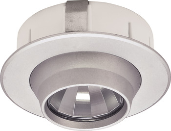 Recess Mounted Puck Light, Round, Loox LED 1109, 12 V