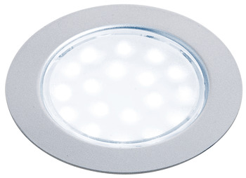 Recess Mounted Round Puck Light, 12 V LED
