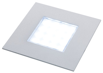 Recess Mounted Square Puck Light, 12 V LED