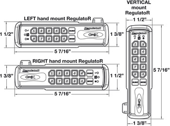 Regulator Keypad Lock, Manual Locking