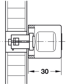 Release Pin, for Symo Rotary Handle