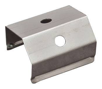 Retaining Clips (2 pcs), For aluminum profile for surface mounting