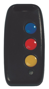 RF Remote Transmitter, 3 Button 3 Code, for Radio Sentry System