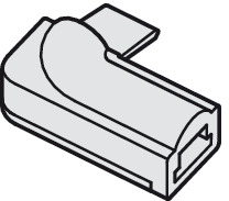 Rigid Corner Connector, for Loox LED 2024