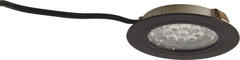 Round Recess/Surface Mounted Downlight, Loox LED 3001, 24 V