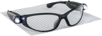 Safety Glasses, with LED, Magnification, Anti-Fog
