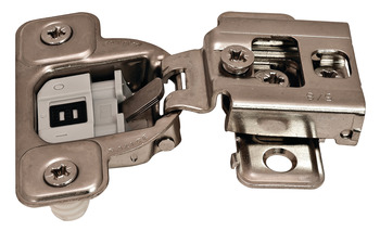 Salice Excenthree Concealed Hinge, 3-Cam, 106° Opening Angle, 5/8 Overlay