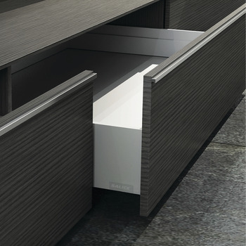 Salice Lineabox Drawer System, Metal Sides