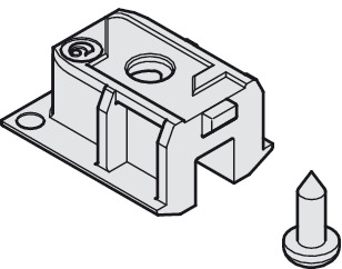 Service Port for Upper Track, plastic