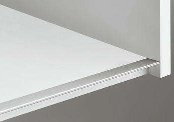 Shelf Profile, Aluminum, 2500 mm Length