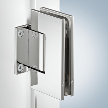 Shower Door Hinge, Straight