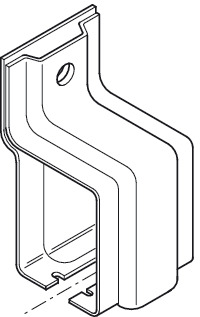 Side Mounting Bracket, Open