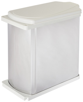 Side Panel/Door Mounted Waste Bin, Hailo Uno (Rectangular)