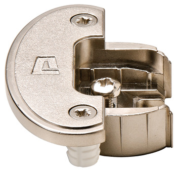 Single Pivot Institutional Hinge Cup, Aximat® 200, Grade 1, for 8 mm Holes, Dowel Mount