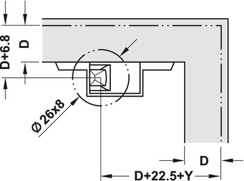 Single PUSH Latch, with Adjustment