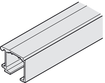 Single Upper Track, Wall mounted