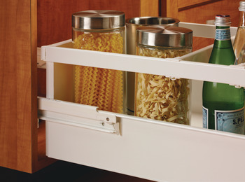 Single-Wall Metal Drawer System, Grass Zargen 6035 (Side Height: 1 11/16)