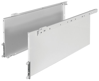 Single-Wall Metal Drawer System, Grass Zargen 6436 (Side Height: 8 3/8)