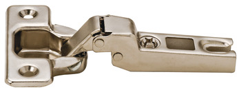 Slide-On Concealed Hinge, Opening Angle 110°, Full Overlay