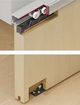 Sliding Door Hardware, Eku Porta 60/100 HMD, set