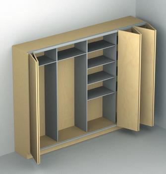 Sliding Door Hardware Hawa Multifold 30 Set In The Hafele America Shop