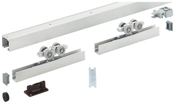Sliding Door Hardware, HAWA Silenta 150/B, set