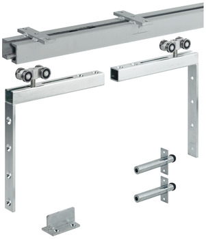 Sliding Door Hardware, Hawa Super 500/B, set