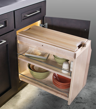 SmartCab® Base Pull-Out, with Soft-Close