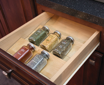 Spice Tray, Drawer Insert