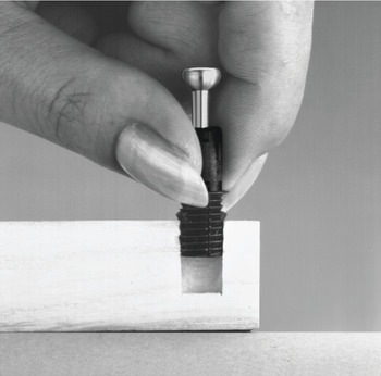 Spreading Bolt, Häfele Minifix<sup>®</sup> C100, for drill hole ⌀ 8 mm
