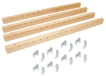 Standard Height (20 7/8), Pilaster X-Series Bracket Kits