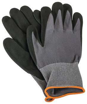 Stealth Glove, Black Nitrile Coated, Nylon/Spandex Blend