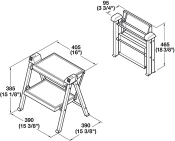 Step Stool, Hailo Stepfix