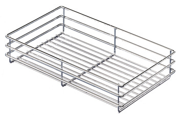 Storage Basket, for 88 lbs. Weight Capacity Pantry Pull-Out and Base Pull-Out