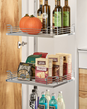 Storage Tray, Arena Plus, for 220 lbs. Weight Capacity Pantry Pull-Out