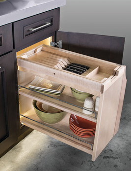 Storage Tray/Full Size App Holder, for SmartCab® Pull-Out
