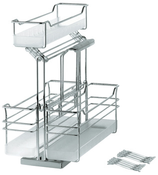 Storage Unit Pull-Out, Portero, Triple Basket