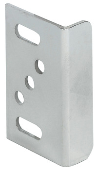 Strike Plate, Angled, with Adjustment Slots