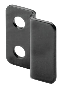 Strike Plate, Offset, Screw-Mounted