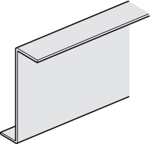Support Profile, For Suspended Ceiling Tiles