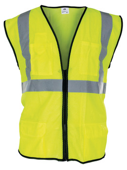 Surveyor's Vest, Class 2, Reflective