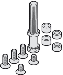 Suspension Bolt, M12, Including Mounting Screws