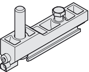 Suspension Carriage, with M10 and Clamping Screw
